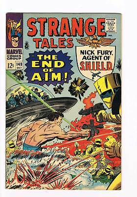 Strange Tales # 149  Nick Fury  Doctor Strange grade 8.5 scarce hot book !!