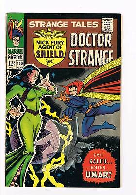 Strange Tales # 150  Nick Fury  Doctor Strange grade 8.5 scarce hot book !!
