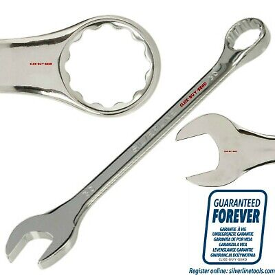 SILVERLINE METRIC COMBINATION SPANNER SPANNERS 6mm - 32mm GUARANTEED DROP FORGED