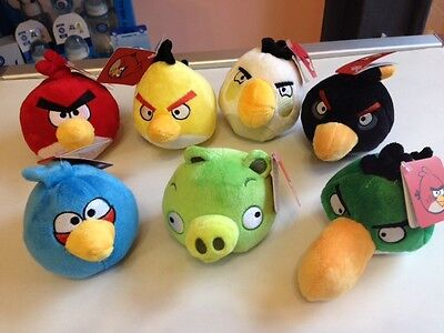 """PELUCHE """"ANGRY BIRDS"""" 12cm TOP QUALITY"""