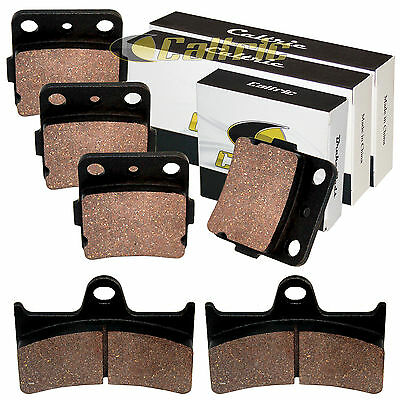 FRONT & REAR BRAKE PADS YAMAHA Grizzly 660 YFM660F 2002 2003 2004 05 06 07 2008