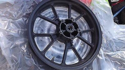 wk125 wk 125rr sports front wheel with bearings ,vgc  2013 2014 new shape