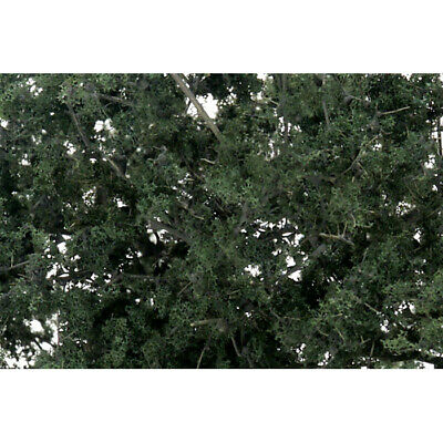 NEW Woodland Scenics Fine Leaf Foliage Dark Green F1130
