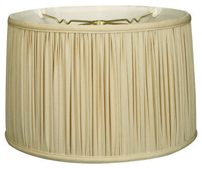 Shallow Drum Gather Pleat Lamp Shade (BS-750)