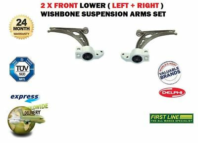 Vw Golf Plus 2005-2008 2X Front Lower Left + Right Wishbone Suspension Arms Set