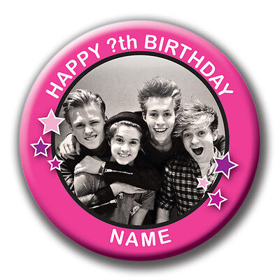 Personalised The Vamps Birthday Badges / Fridge Magnets / Mirrors - 58Mm