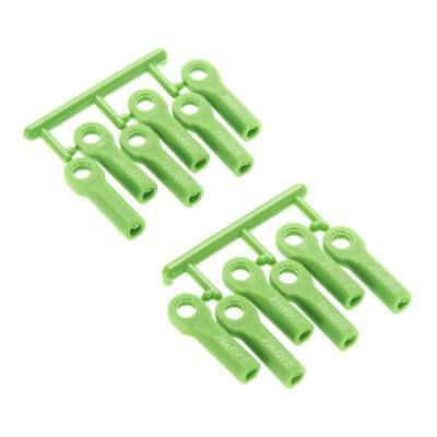 NEW RPM Rod Ends Long Green Traxxas 80514