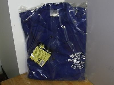 "Black Stallion 2X-Large FRB9-30C/BS 9oz 30"" Hybrid FR Cow Cotton Welding Jacket"