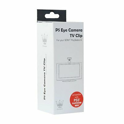 Crown Ps Eye Camera Eyecam Tv Clip For Ps3 Playstation Move - Ps805Blk