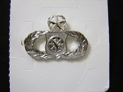 USAF MASTER WEAPONS CONTROLLER QUALIFICATION  BADGE NEW:K7