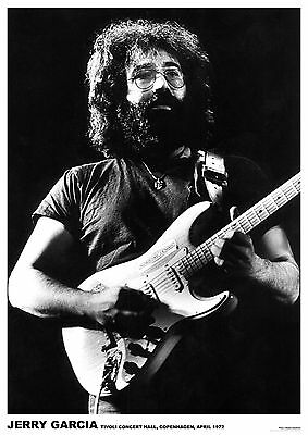"Grateful Dead Jerry - Retro Poster A1 Size 84.1cm x 59.4cm - approx 33"" x 24"""