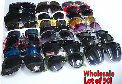 50 MIXED LOT SUNGLASSES glasses new Wholesale deal for resale