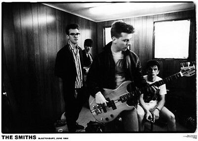 "THE SMITHS -Glastonbury Morrissey '84 Poster A1 Size 84.1cm x 59.4cm - 33"" x 24"""