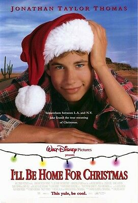 I'LL BE HOME FOR CHRISTMAS - 27x40 D/S Original Movie Poster One Sheet MINT 1998