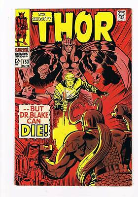 Thor # 153  But Dr.Blake Can Die !  grade 8.5 scarce hot book !!