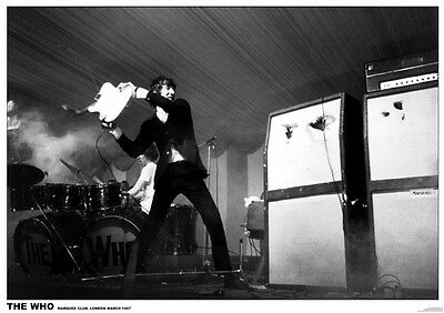 The WHO Pete Marquee 1967 - Retro Poster Size 84.1cm x 59.4cm - 33 in x 24 in