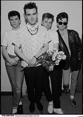 Smiths Poster - Retro Poster Size 84.1cm x 59.4cm - approx 34''x 24''
