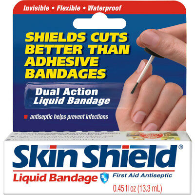 Skin Shield Liquid Banage, 0.45-ounce Protects Like a Second Skin