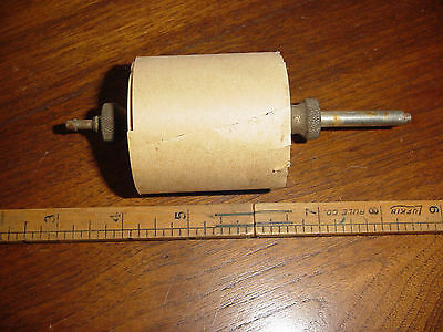 Antique Vintage Paper Tape holder for Adding Machine, Telegraph, Cash Register?