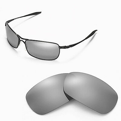 New Walleva Polarized Titanium Lenses For Oakley Crosshair 2.0 (2010 version)