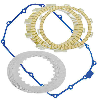 CLUTCH FRICTION PLATES and GASKET KIT Fits HONDA VT500C Shadow 500 1983-1986