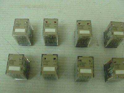 Omron Relay, MY4N 24VDC (Lof of 8) 7.99 ea.