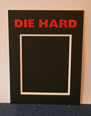 Die Hard double mounted photo picture mount