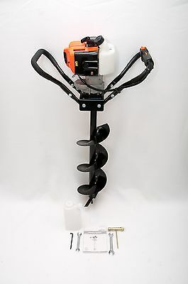 "Earth Auger/ Hole Digger Gasoline 43cc Single Person Meet EPA W/8"" Drill bit"