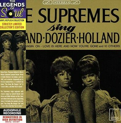 Sing Holland/Dozier/Holland - Supremes (2013, CD New) Remastered/Lmtd ED.