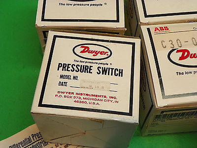 New Dwyer Differential Pressure Switch 24-192047-00  F2