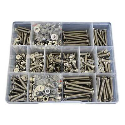 Kit Size 840 Countersunk M5 M6 Socket Screw G304 Stainless Allen Nut Washer #14