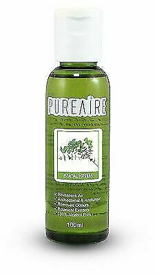 PureAire Eucalyptus 100ml Fragrance Essence for Air Purifier Anti Bacterial