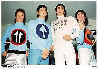 The WHO Daltry Townsend - Set of 2 Posters Size 84.1cm x 59.4cm - 33 in x 24 in