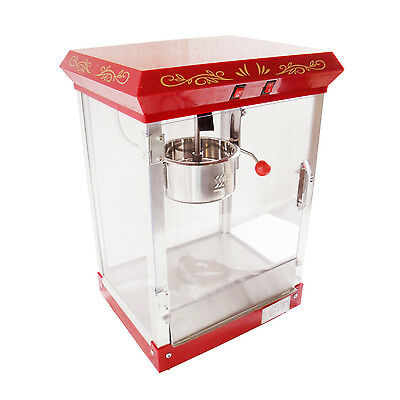 4 oz Popcorn Machine Stainless Steel Pop Corn Popcorn Maker Machine 500W New