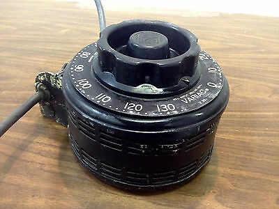 GENERAL RADIO VARIAC V20 Variable Autotransformer