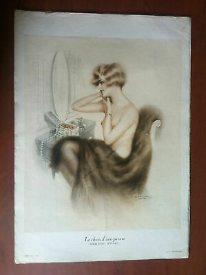 Photogravure Eros Avril 1926 par G. Cirmeuse - E10705