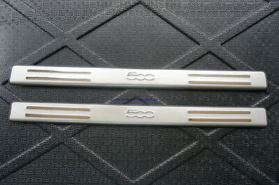 New Door Sill Scuff Plate for Fiat 500 2011-2014