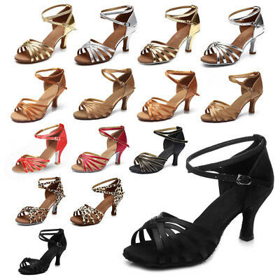 Brand New Women's Ballroom Latin Tango Dance Shoes heeled Salsa 15 Style Hot