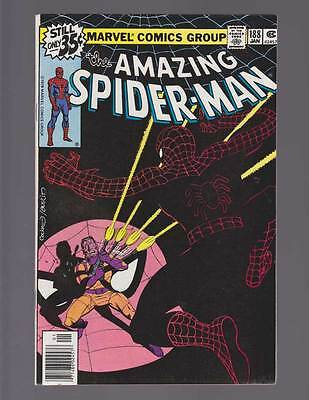 Amazing Spider-Man # 188  The Jigsaw is Up ! grade 8.0 scarce hot book !!