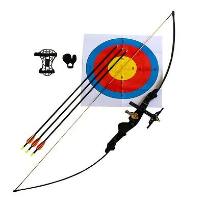 Brand New Left Longbow / Recurve Bow, Black & Camo Archery, Different Variations