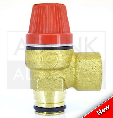 Range Tribune He Cylinder 6Bar Push Fit Pressure Relief Valve Ts4