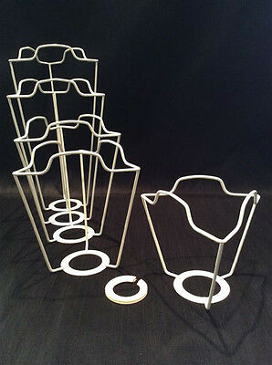 """UK & EURO LAMPSHADE 4"""" FRAME CARRIER supports a shade with large duplex fitting"""