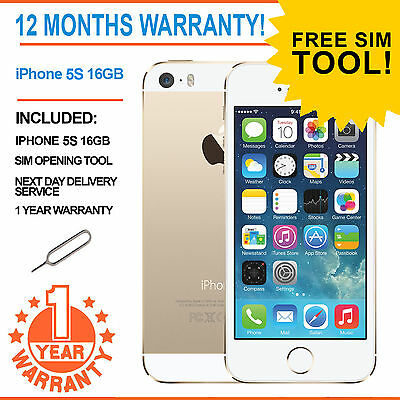Apple iPhone 5s 16GB Factory Unlocked - GOLD