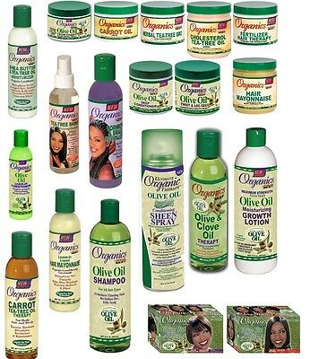 Organics Olive Oil Africa's Best Afro Hair Care Products Hair Care *full Range