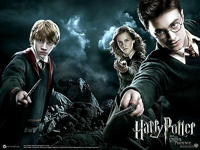 Harry Potter Picture Art Poster A4 / A3 Hp01- Buy 2 Get 1 Free!