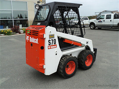 Bobcat S70 Bics Skid Steer Loader Operation Maintenance User Owner Manual