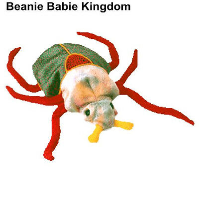 Ty Beanie Babie * SCURRY * The Colourful Beetle