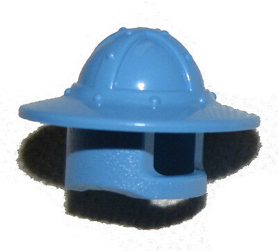 LEGO CASTLE MEDIUM BLUE HELMET WITH BROAD BRIM FOR ARCHER