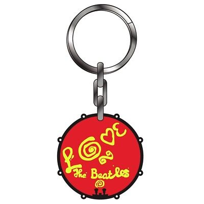 Keyring Thick Metal - The Beatles All you need is love