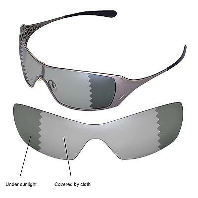 Walleva Polarized Transition/Photochromic Replacement Lenses For Oakley Dart